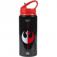 botella aluminio star wars black