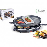 plancha grill raclette 900w