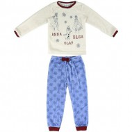 pijama largo coral fleece frozen 2 t2 años