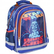 mochila escolar premium brillante star wars