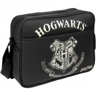 bolso bandolera polipiel harry potter negro