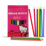 caja 18 lapices color hello kitty