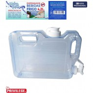 dispensador frigo 42l water fresh