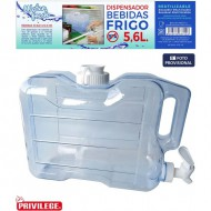 dispensador frigo 56l water fresh