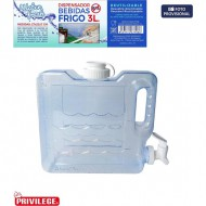 dispensador frigo 3l water fresh