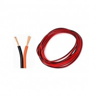cable para audio 10m 2x05mm bicolor rojo negro 7hsevenon elec