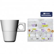 set 4 tazas capuccino 20cl lima lines