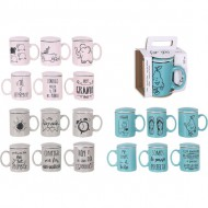tisana mug 350cc for you diseños surtidos