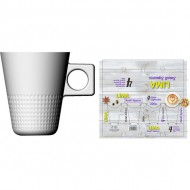 set 4 tazas capuccino 20cl lima small squares