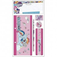 blister estuche plano 4 pzs little pony