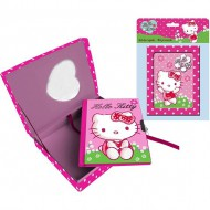 caja regalo con diario hello kitty