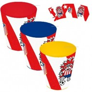 set 3 vasos atletico de madrid 4908072