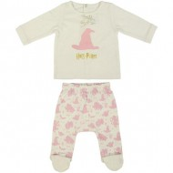 polaina interlock harry potter beige talla 0 meses