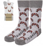 calcetines friends light gray talla 35 41