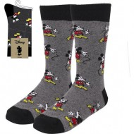 calcetines mickey dark gray talla 40 46