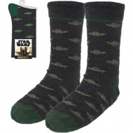 calcetines adulto the mandalorian dark gray talla 35 41