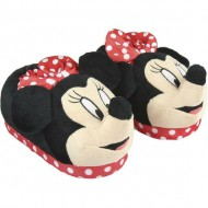 zapatillas de casa 3d minnie red