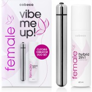 FEMALE VIBE ME UP KIT VIBRADOR 60ML