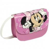 bolso bandolera minnie rosa 130x100x40mm