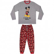 pijama largo single jersey mickey txl