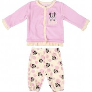 conjunto 2 piezas velour cotton minnie talla 3 meses