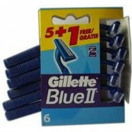 gillete blue ii 51 gratis maquinillas desechable