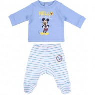 polaina interlock mickey talla 0 meses