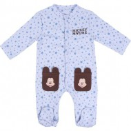 pelele interlock mickey talla 3 meses
