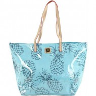 bolso de rafia capazo pineapple de for time