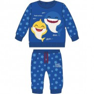 chandal cotton brushed baby shark azul 12 meses