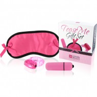LOVERS PREMIUM TEASE ME SET DE REGALO ROSA