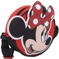 bolso bandolera 3d minnie red