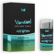 INTT VIBRATION GIN TONIC LIQUID VIBRATOR 15ML