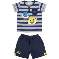 conjunto 2 piezas french terry baby shark