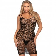 LEG AVENUE MINI VESTIDO GANCHILLO