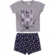 conjunto 2 piezas single jersey minnie gris