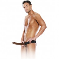 FETISH FANTASY ARNES HUECO AJUSTABLE CHOCOLATE 22 CM