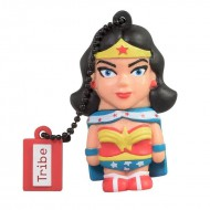 Pendrive 16gb tribe dc comics warner bros wonder woman