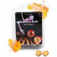SECRET PLAY SET 2 BRAZILIAN BALLS EFECTO CALOR