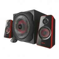 Altavoces 2.1 trust gaming gsp-421 - 120w max.( 60w rms) - subwoofer madera 40w