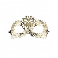 FORREST QUEEN MASQUERADE MASK ORO