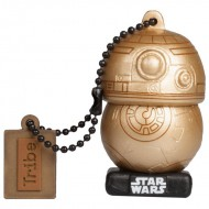 Pendrive 16gb tribe bb8 gold star wars