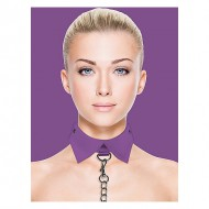 OUCH COLLAR Y CORREA EXCLUSIVE MORADO
