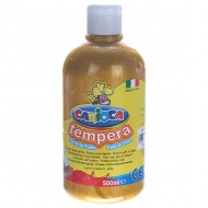 tempera botella 500 ml oro