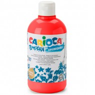 tempera botella 500 ml rojo