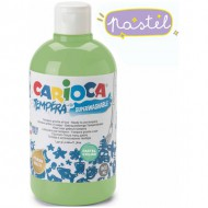 pintura tempera carioca color 500 ml verde