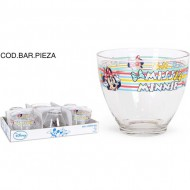 vaso vidrio 60cl minnie