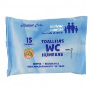 toallitas wc 15 uds natural care