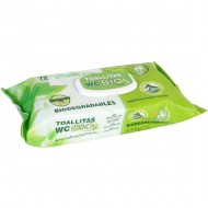 toallita wc bio 72 unds c tapa natural care