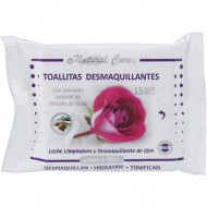 toallitas desmaquillantes 15 uds natural care